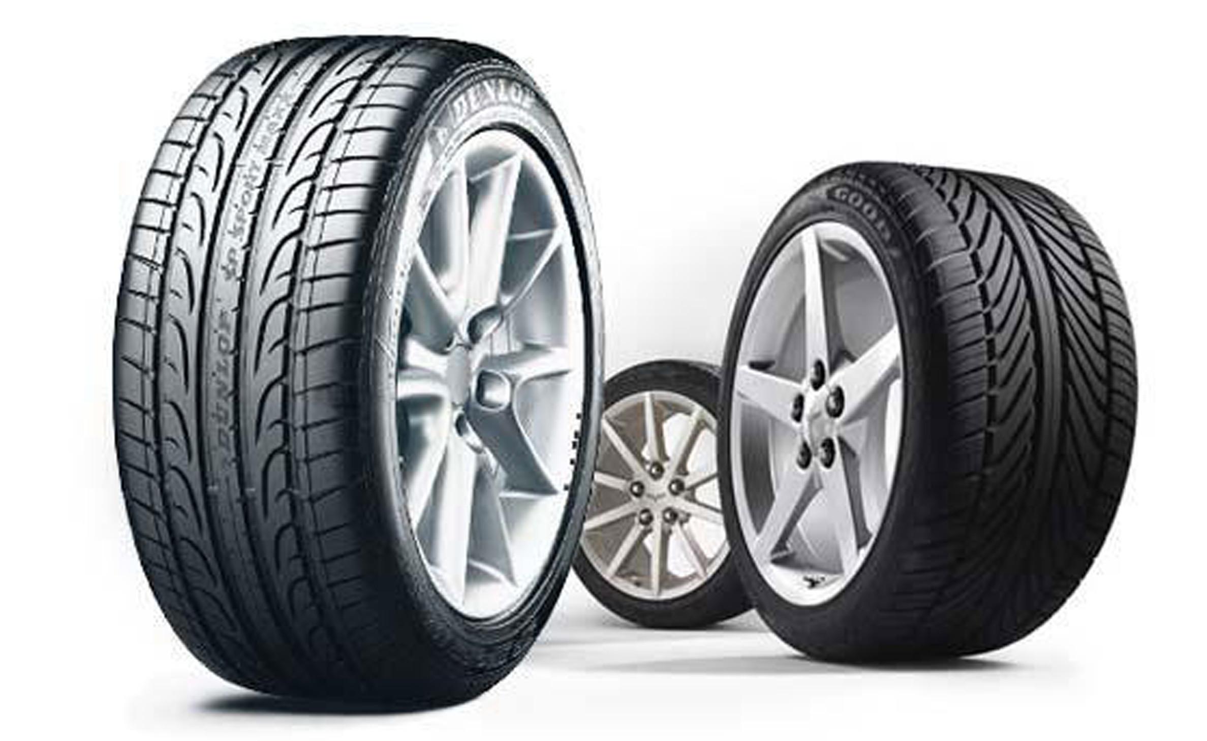 Neumáticos, Pastillas